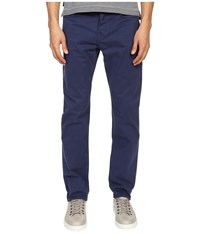 Jack Spade Stonehill Slim Fit Five Pocket Trousers Insignia Blue