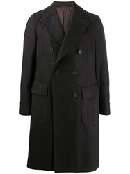 Dell'oglio Double Breasted Midi Coat 60