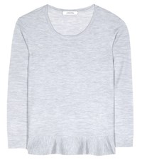 Dorothee Schumacher Galactic Romance Wool Sweater Grey