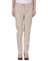 Heavy Project Casual Pants Beige