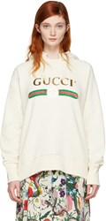 Gucci Ivory Blind For Love Hoodie