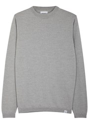 Norse Projects Sigfred Grey Wool Jumper