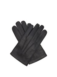 Dents Shaftesbury Touchscreen Leather Gloves Black
