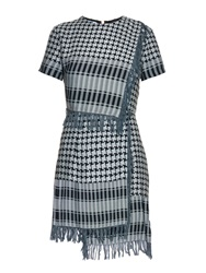 House Of Holland Afghan Check Print Dress