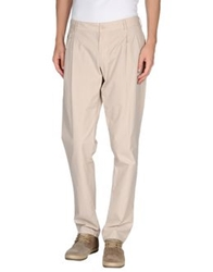 Dolce And Gabbana Casual Pants Beige