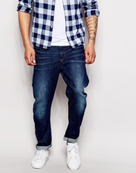 G Star G Star Jeans Type C 3D Tapered Fit Medium Aged Bl1blue1