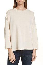 Eileen Fisher Cashmere Sweater Icing