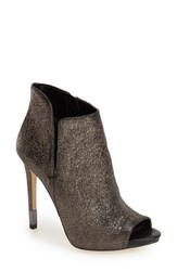Women's Guess 'Adara' Open Toe Bootie 4 1 4' Heel