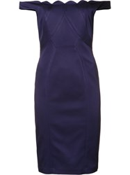 Zac Posen 'Daniella' Dress Pink Purple