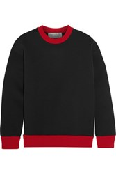 Etre Cecile Neoprene Sweater Charcoal
