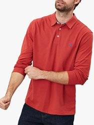 Joules Woodwell Polo Shirt Soft Red