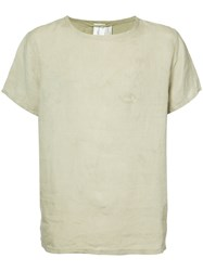 Horisaki Design And Handel Loose Fit T Shirt Unisex Linen Flax 2 Nude Neutrals