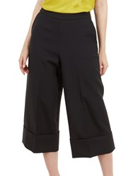 Ted Baker Wide Leg Culot Trousers Black