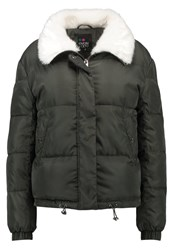 Evenandodd Winter Jacket Khaki