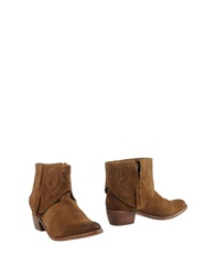 Catarina Martins Ankle Boots Brown
