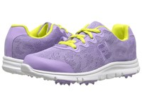 Footjoy Enjoy Spikeless Little Kid Big Kid Pearl Lavender Women's Golf Shoes Purple