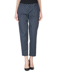 Hope Collection Trousers Casual Trousers Women Dark Blue