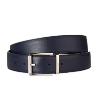 Dunhill Reversible Leather Belt Navy