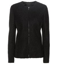 The Row Stanna Wool Blend Jacket Black