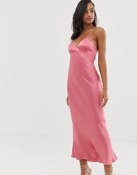 Bec And Bridge Vision Of Love Midi Dress Pink