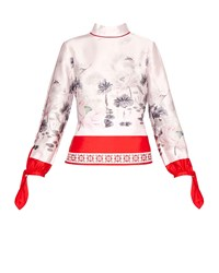 Ted Baker Aliyuah Lake Of Dreams Long Sleeved Top Pink