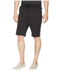 Publish Mathias Side Ribbed Shorts Black
