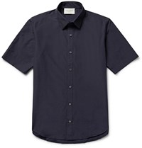 Public School Cotton Blend Shirt Blue