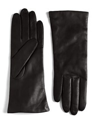 Lord And Taylor Leather Gloves Cashew Brown