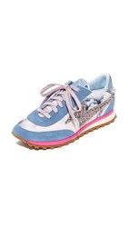 Marc Jacobs Astor Lightning Bolt Sneakers Blue Multi
