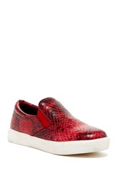 Wanted Pivot Slip On Sneaker Red