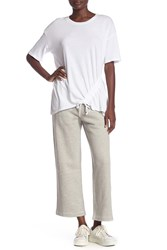 Current Elliott The Cora Sweatpants Heather Grey Fl