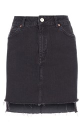 Topshop Tall Highwaisted Mini Skirt Black