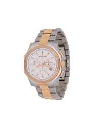Roberto Cavalli Round Face Wrist Watch Metallic