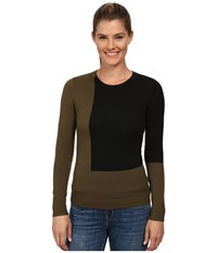 Spyder Hynt Pullover Sweater Guard Black Women's Sweater Brown