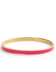 Kate Spade Hot To Trot Idiom Bangle Pink Gold
