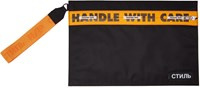 Heron Preston Black Style Handle Pouch