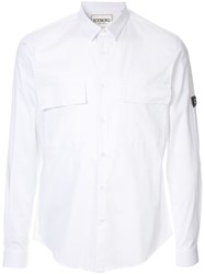 Iceberg Long Sleeve Shirt White