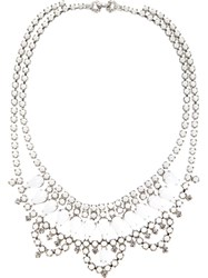Tom Binns Crystal Necklace White