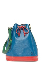 Wgaca Louis Vuitton Large Epi Noe Bucket Bag Previously Owned Blue Green Red