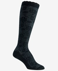 Berkshire Over The Calf Compression Socks Also Available In Extended Sizes Black