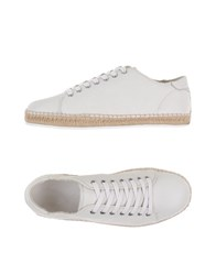 Dolce And Gabbana Footwear Espadrilles Men White