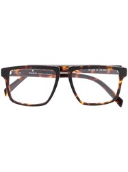 Balmain Tortoiseshell Glasses Brown