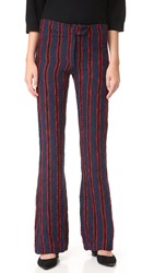 Warm Marcel Pants Red Stripe