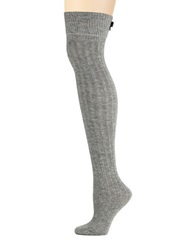 Kate Spade Over The Knee Tights Medium Grey