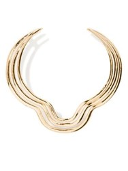 Aurelie Bidermann Alcazar Bib Necklace Gold