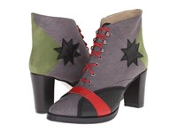Preen Thurston Ankle Boot Grey Multi Women's Boots Gray