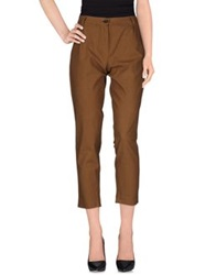 Erika Cavallini Semi Couture Erika Cavallini Semicouture Casual Pants Brown