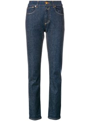 Closed Slim Fit Trousers Blue