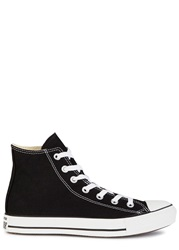 Converse All Star Black Canvas Hi Top Trainers
