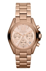 Michael Michael Kors Michael Kors 'Bradshaw Mini' Chronograph Bracelet Watch 36Mm Rose Gold